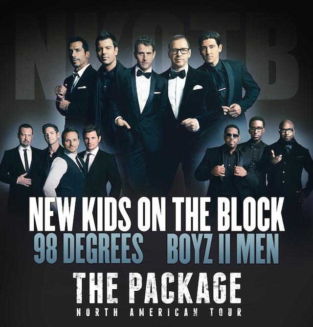 Package Tour: New Kids on the Block, 98 Degrees, Boys II Men