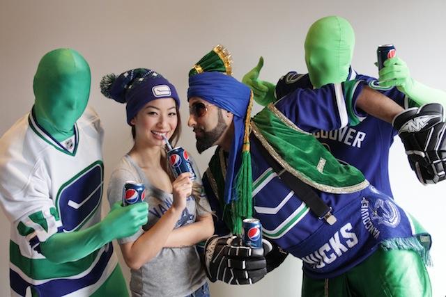 Pepsi Canucks Super Fans
