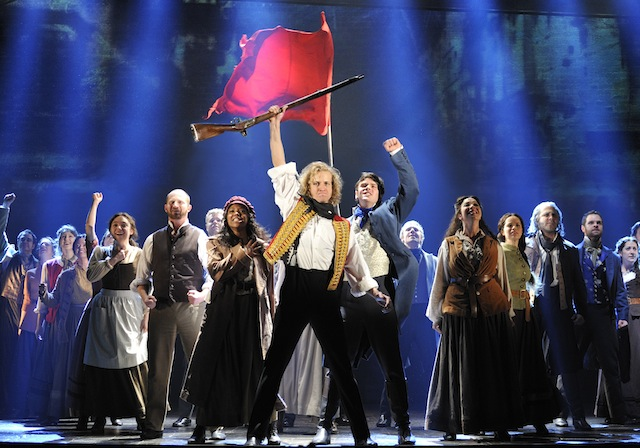 Les Misérables by Cameron Mackintosh, opening night November 28 2010, Paper Mill Playhouse, 22 Brookside Dr., Millburn New Jersey
