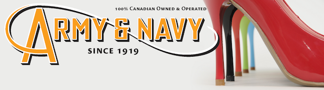 Army And Navy Shoe Sale  Edmonton