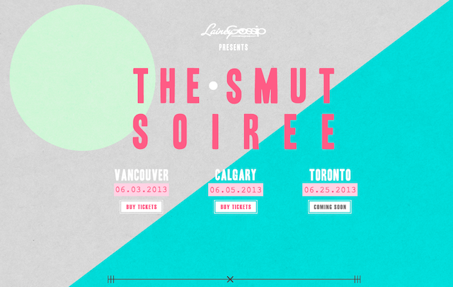Vancouver SMUT Soiree