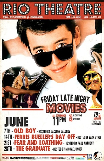 June Late Night Movies At The Rio Theatre 187 Vancouver Blog