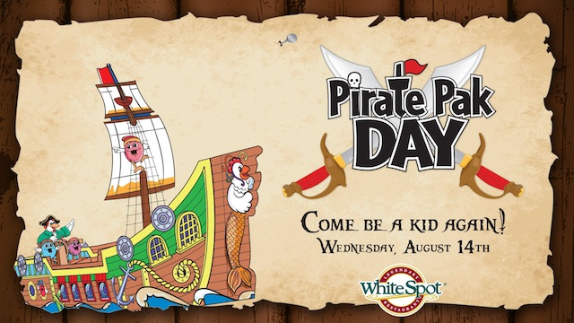 WHITE SPOT - Adult Pirate Pak available August 14