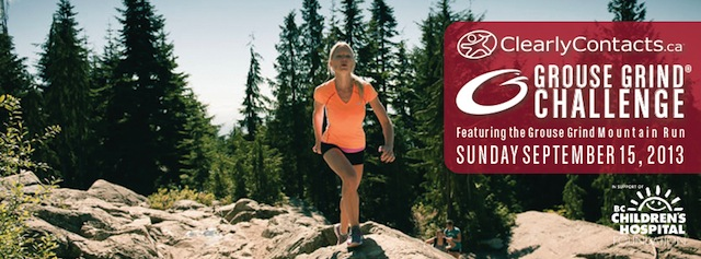 ClearlyContacts.ca Grouse Grind Challenge