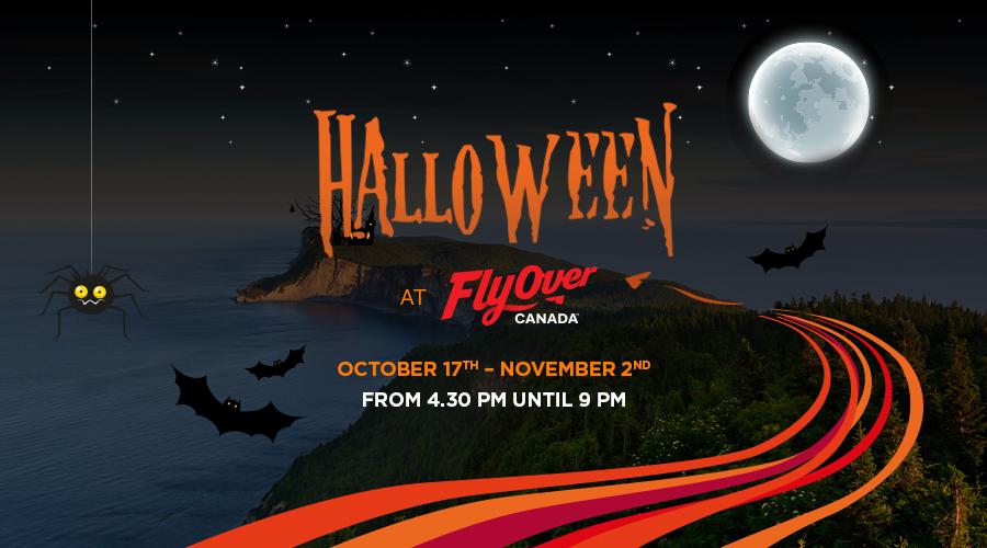 FlyOver Canada Halloween