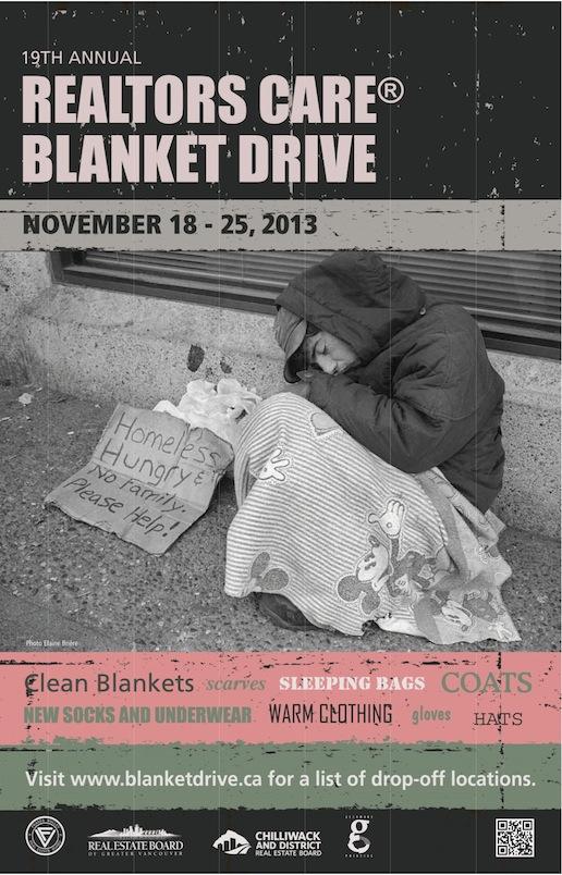 VancouverBlanketDriveDonations