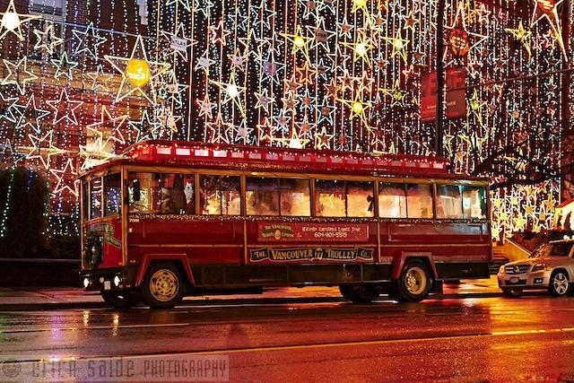 Karaoke Christmas Lights Tour Vancouver Trolley Company