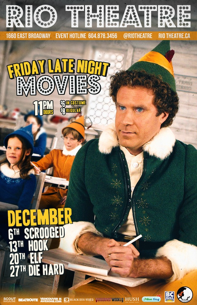 Rio Theatre Friday Late Night Movies December 2013