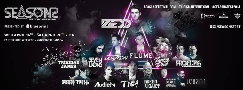 SEASONS Music Festival 2014