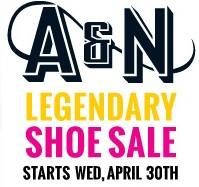 Army and Navy Shoe Sale 2014