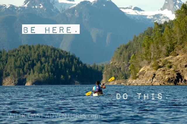 Kayak Camping Vancouver Island