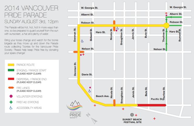 VancouverPrideParadeRoute2014