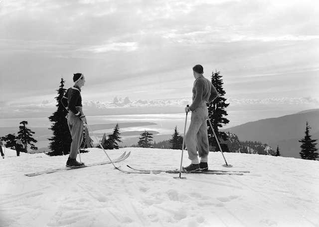 Vintage Ski Photos Vancouver