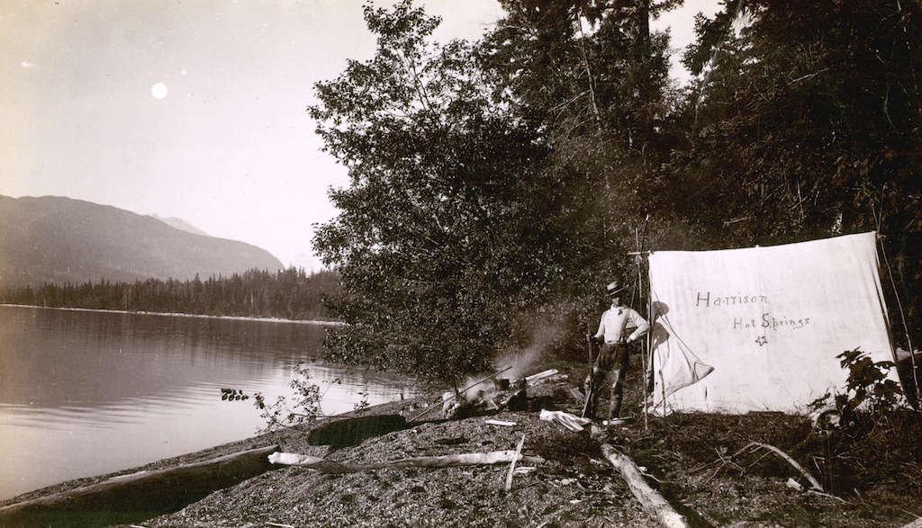 1889HarrisonLakeCamping