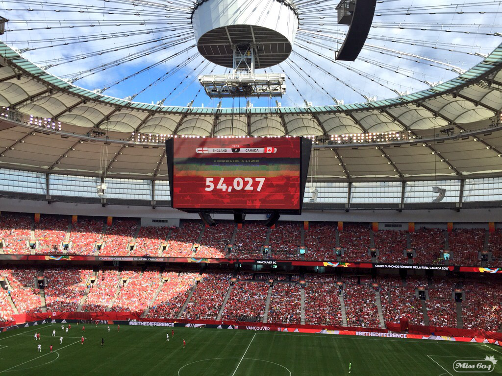 FIFA Women's World Cup England Canada
