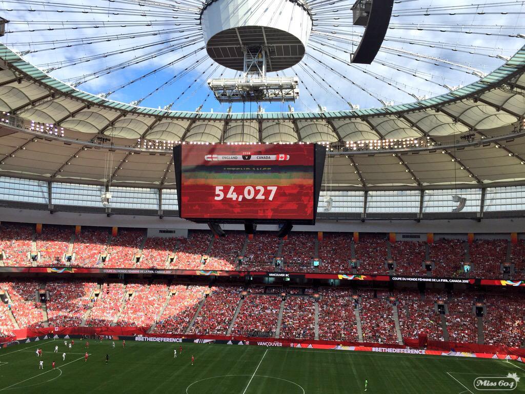 FIFA Women's World Cup England Canada