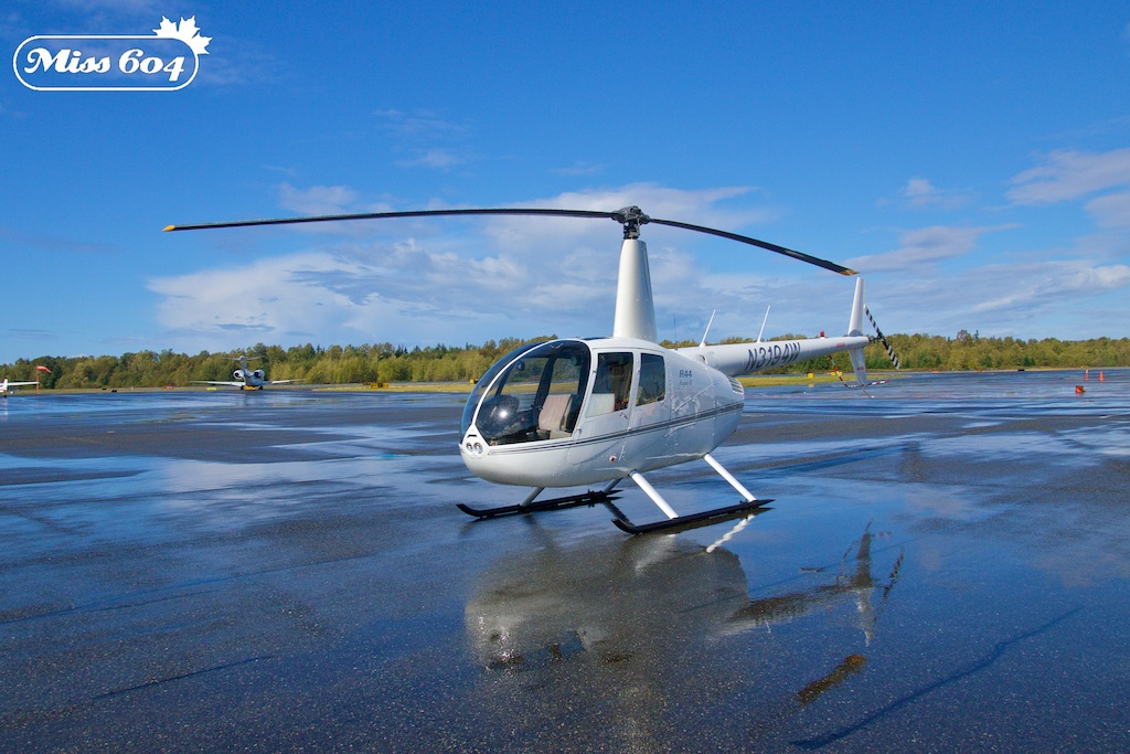 Bellingham Helicopter Tour