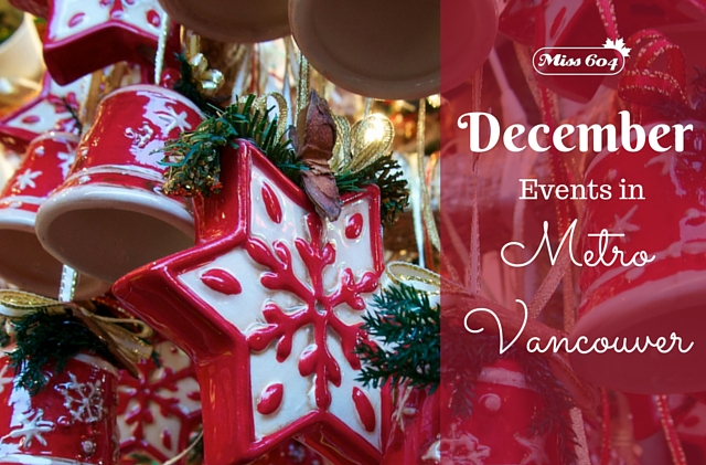 December Events in Metro Vancouver