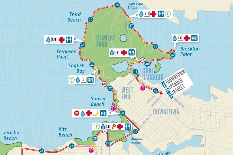Road Conditions Vancouver: BMO Vancouver Marathon Road Closures, Route » Vancouver