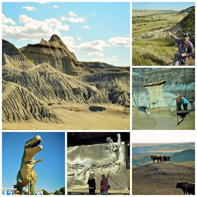 Drumheller-Collage