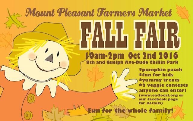 Fall Fair at Mount Pleasant Farmers Market
