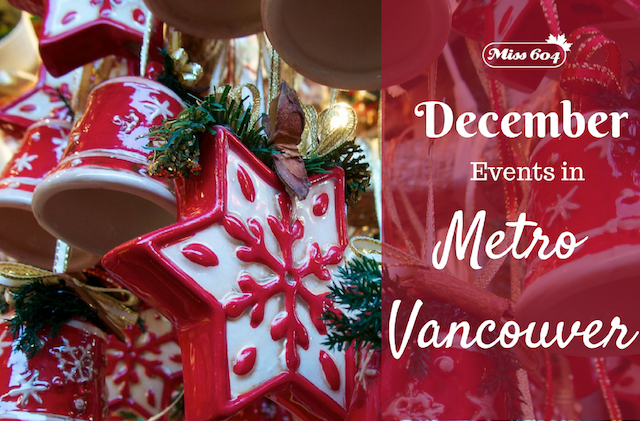 December Events in Metro Vancouver 2016