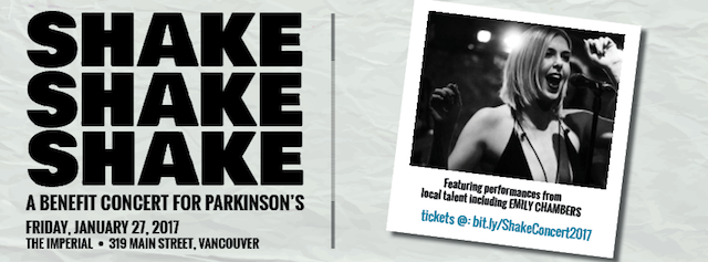 Shake, Shake, Shake for Parkinson Society BC