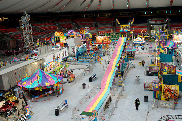 PlayDome at BC Place for Spring Break