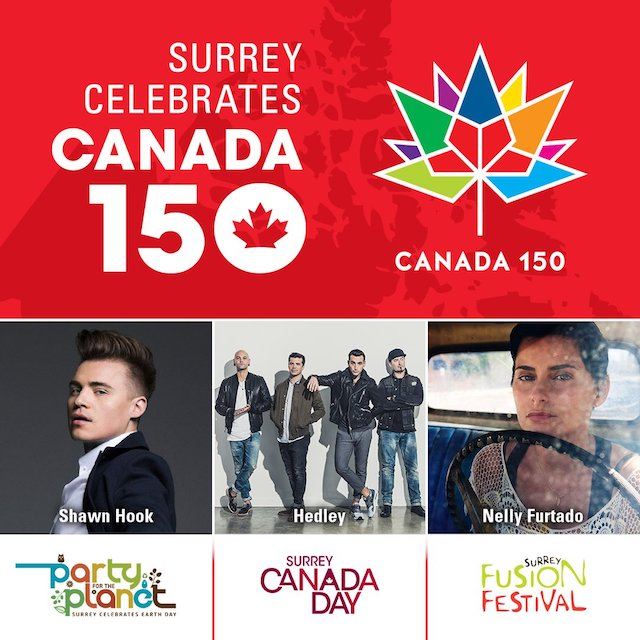 Surrey Canada 150 Celebrations » Vancouver Blog Miss604