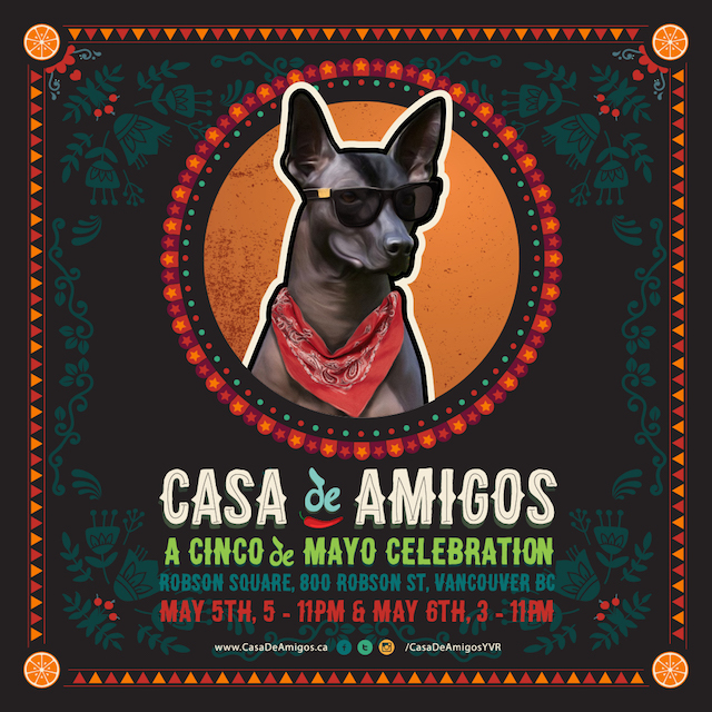 Cinco de Mayo in Vancouver at Casa de Amigos