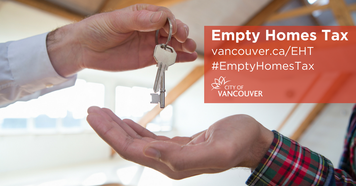 Vancouver's Empty Homes Tax