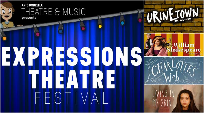 Arts Umbrella Expressions Theatre Festival: Win a Prize Pack