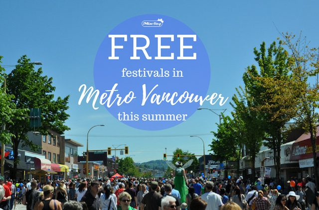 Free Festivals in Metro Vancouver This Summer