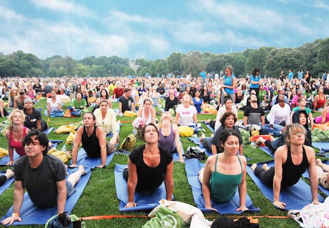 Big Yoga for Big Sisters of BC Lower Mainland
