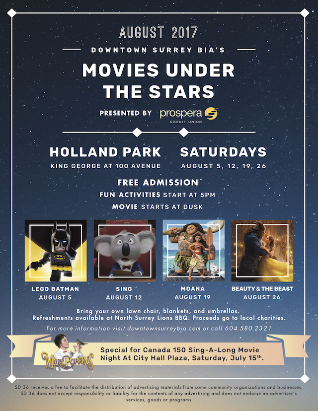 Movies Under the Stars at Holland Park in Surrey