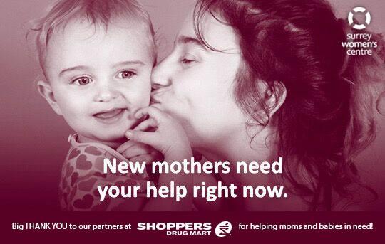 Surrey Women's Centre Diaper Campaign