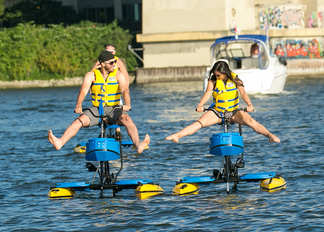 Water Bike Rentals in Vancouver