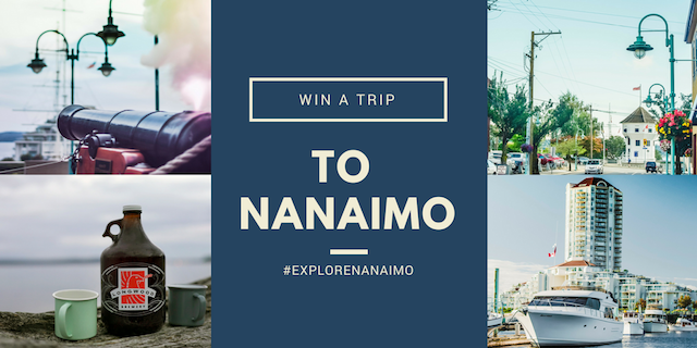 Win a trip to Nanaimo