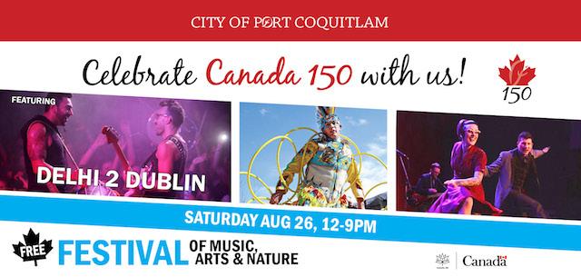 Port Coquitlam Celebrates Canada 150