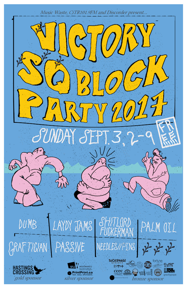Victory Square Block Party 2017
