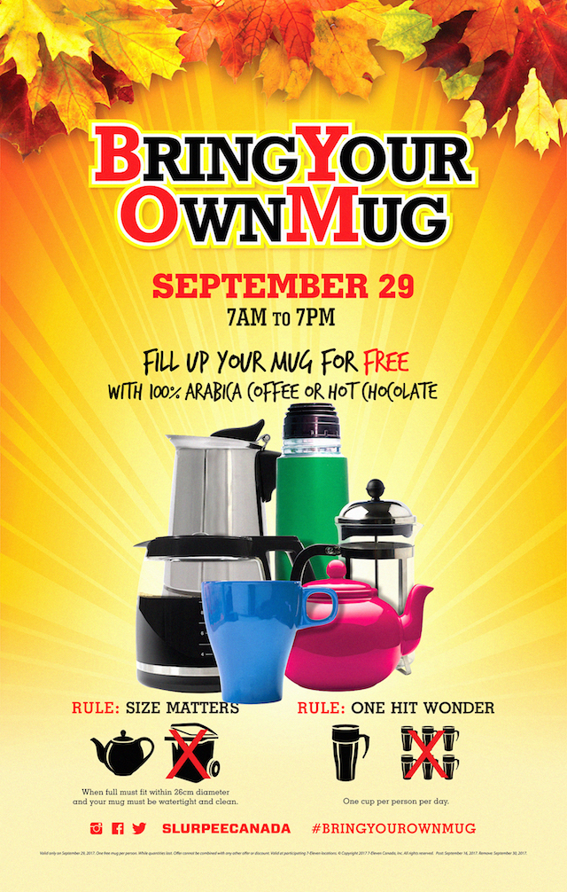 7-Eleven Bring Your Own Mug Day