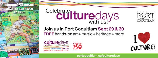 Culture Days in Port Coquitlam