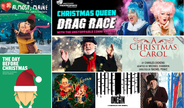 Holiday Theatre Shows in Vancouver