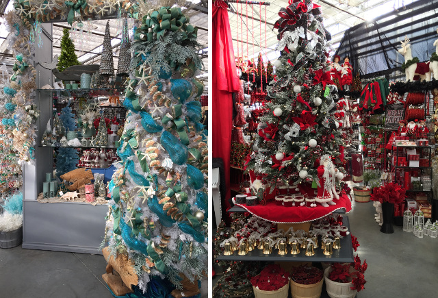 The Christmas Store at Potters